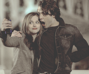 if i stay, couple, and movie image