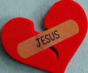 god, jesus, and love image