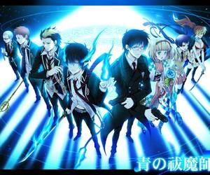 anime, blue exorcist, and okumura rin image