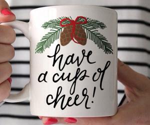 cheer, christmas, and coffee image