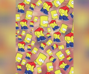 bart simpson, blur, and hippy image