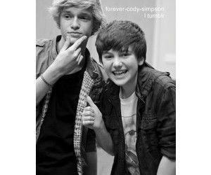 cody simpson, greyson chance, and double cuteness image