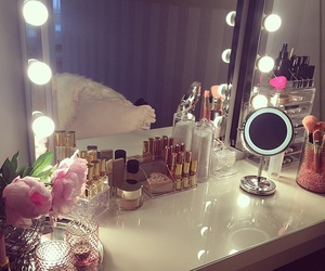 makeup, luxury, and mirror image