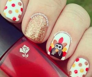 nails, thanksgiving, and autumn image