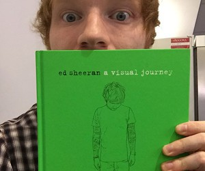 ed sheeran, book, and ed image