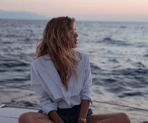 girl, sea, and summer image