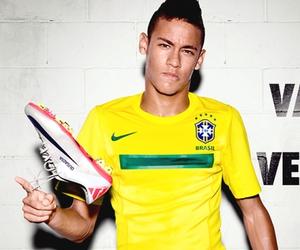 neymar, brazil, and Hot image