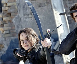 mockingjay, Jennifer Lawrence, and katniss image