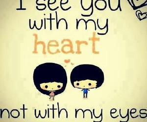 love, heart, and eyes image