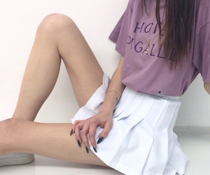 anorexia, grunge, and legs image