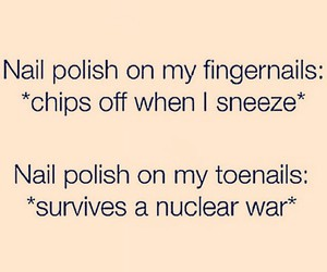 nails and funny image