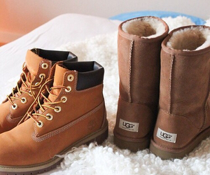 fashion, shoes, and winter image