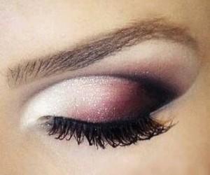 cosmetics, eyebrows, and girl image