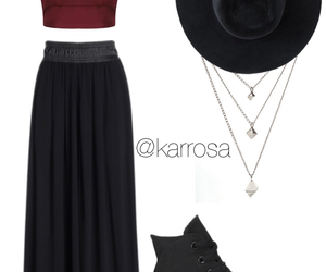 autunm, hat, and Polyvore image