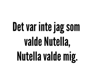 funny, mat, and nutella image