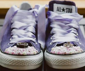 all star, wedding, and purple image