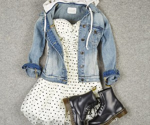 outfit, fashion, and dress image