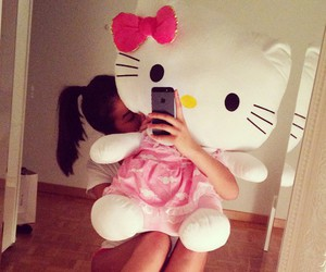 girly, hello kitty, and hipster image
