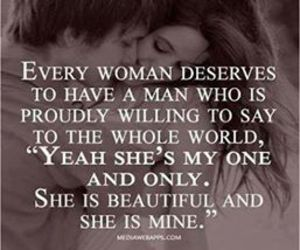 love, quotes, and woman image
