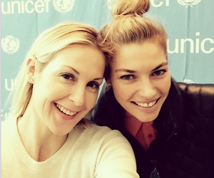 gossip girl, smile, and kelly rutherford image