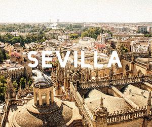 beautiful, europe, and sevilla image