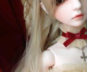 beautiful, gothic, and doll image