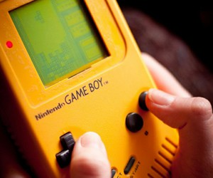 game, game boy, and nintendo image