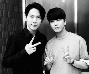 himchan, youngjae, and bap image