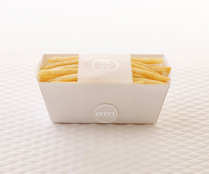 gucci, food, and fries image