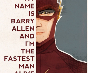 flash, barry allen, and the flash image
