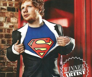 ed sheeran, superman, and music image