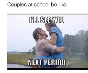 couple, funny, and school image