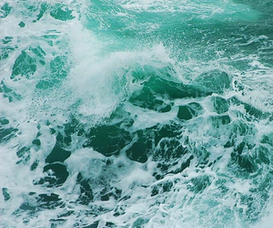 blue, green, and ocean image