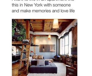 new york, apartment, and love image