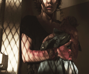 the walking dead and maggie greene image