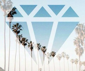 diamond, summer, and wallpaper image