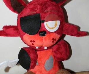 foxy, pushie, and five nights at freddy's image