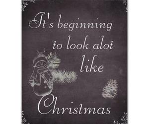 chalkboard, christmas, and holidays image