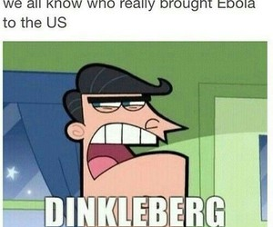 funny, ebola, and dinkleberg image