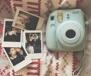 polaroid, camera, and zoella image