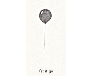 balloon, drawing, and frozen image