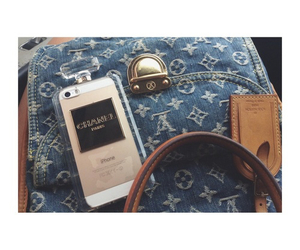 chanel, iphone, and Louis Vuitton image
