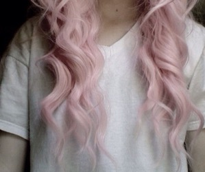 pink, colorful, and hair image
