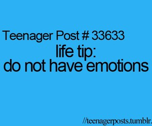 emotions and teenager posts image