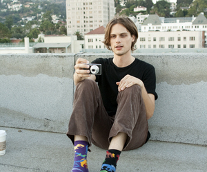 matthew gray gubler, socks, and criminal minds image