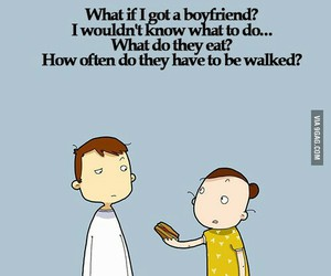 funny, but what if, and boyfriend issues image