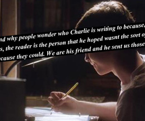charlie, letters, and wallflower image