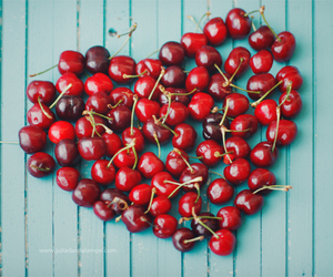 cherries, heart, and julia dávila-lampe image