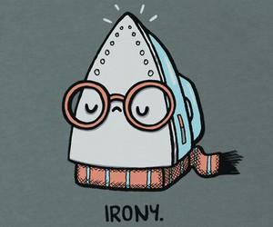 irony, funny, and iron image