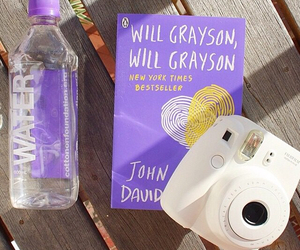 book, water, and camera image